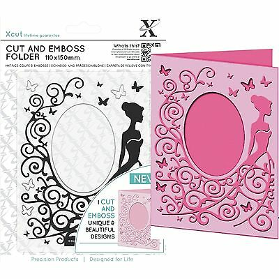 Docrafts Xcut A6 Dress Cut & Emboss Folder - Great For Weddings