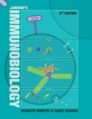 Janeway's Immunobiology by Kenneth Murphy Paperback Book Free Shipping!