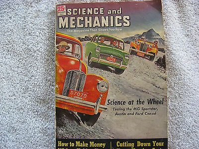 Vintage Science and Mechanics December 1951