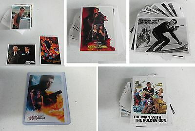 2016 James Bond Classics Mini-Master Set with Binder/Album & 2 Random Autographs