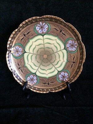"Pickard Hand Painted, Signed ""Lily Palmate"" Plate"