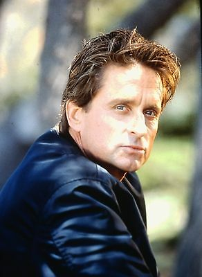 "MICHAEL DOUGLAS in ""Basic Instint"" - Original 35mm COLOR Slide - 1992"