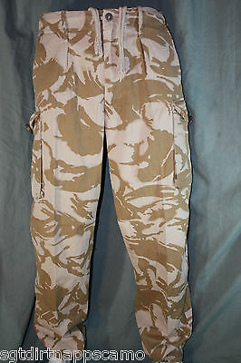 "British DPM Desert Trousers "" surplus item"" Grade 1 -  Size 32 inch / 82 cm"