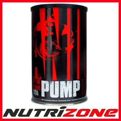 UNIERSAL NUTRITION ANIMAL PUMP Workout Muscle Volumizing Stack Creatine AAKG Pak