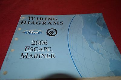 2007 07 ford escape mercury mariner wiring diagrams manual ford escape mercury mariner 2006 dealer wiring diagram manual bapa