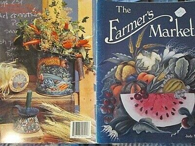 Farmer's Market Painting Book-Morgan-Vegetables/Robin/Herbs/Seed Boxes