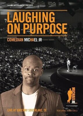 Laughing on Purpose with Comedian Michael Jr. DVD
