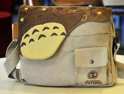 Studio Ghibli My Neighbor Totoro Cosplay Messenger Shoulder School Bag