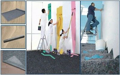 Painter's Fleece painter Cover Protective Non-woven breather Renovating 1 x 10 m