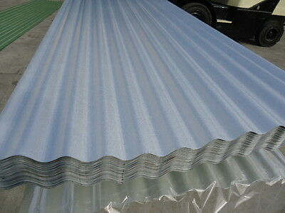 Corro Roofing Iron, (New) Zinc 3.6 Mtr Lengths $7.95 L/m
