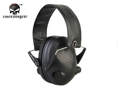 Peltor TAC-6-S Electronic Headset EMERSON Tactical Duty Ear Protection Gear 8934