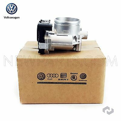 New Genuine OEM VW Throttle Body 2.5 Jetta Beetle Rabbit Golf Passat 2008-2014