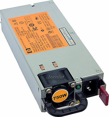 HP Power Supply Netzteil 750W DPS-750RB PN: 506822-101 SP:511778-001 DL380 G6 G7