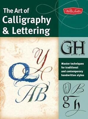 The Art of Calligraphy & Lettering by Cari Ferraro Paperback Book (English)