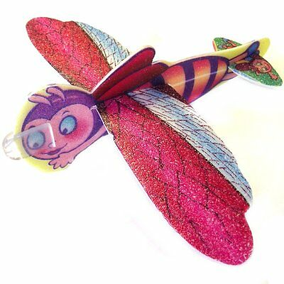 Pack of 15 Insect Toy Poly Gliders - Fun Childrens Pocket Money Toys
