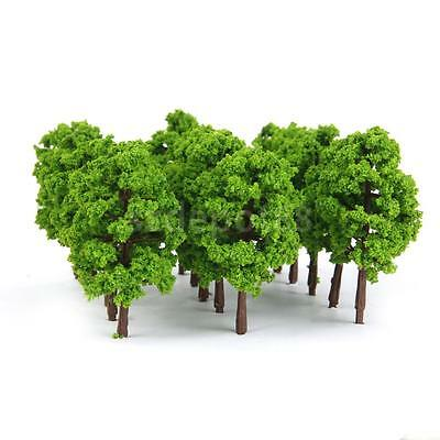 20 Model Trees Train Street Scenery Landscape Railway Layout N Scale 1:150