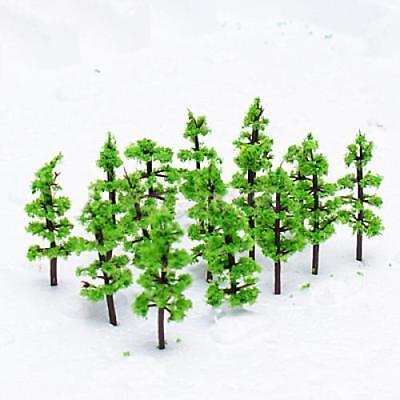 100 Model Tree Train Railway Street Diorama Architecture Scenery Scale N Z