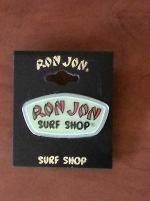 Ron Jon Surf Shop Pin Lapel Hat Souvenir Glow In The Drak Brand New!!!!!!!!!!!!!