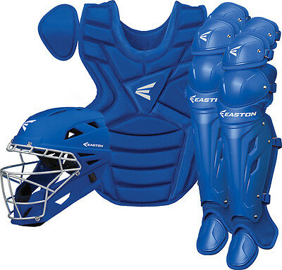 Easton Natural Series Youth Catcher's Box Set - Royal Blue - NEW