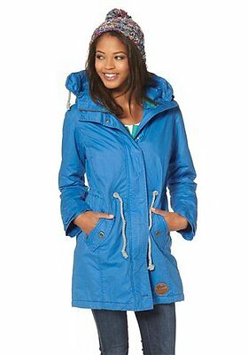 kangaroos parka jacke damen mantel anorak windbreaker gr. Black Bedroom Furniture Sets. Home Design Ideas