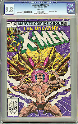 The Uncanny X-Men #162 (1982) CGC 9.8 White Pages 0278642009