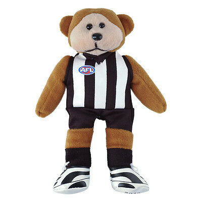 Official AFL Beanie Kid - Layts the Collingwood Magpies Bear 2014 - BNWT