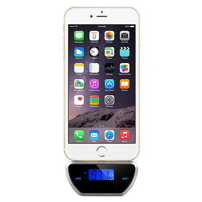 2016 Wireless 3.5mm FM Transmitter Car Audio Radio Adapter for iPhone5S 6S SE