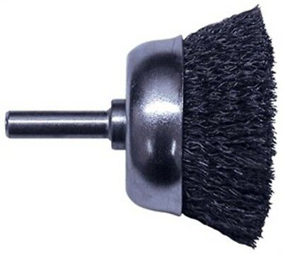 "Cup Brush,2-3/4"" Coarse by CENTURY DRILL & TOOL CO., INC"