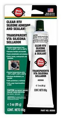 Silicone,Rtv Clear 3oz by SUPER GLUE CORP/PACER TECHNOLO