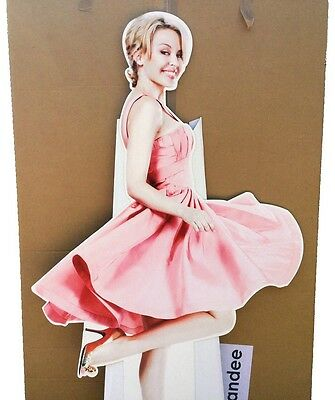 Kylie Minogue rare 'at home' official Promo Life Size 172cm Tall Shop Standee
