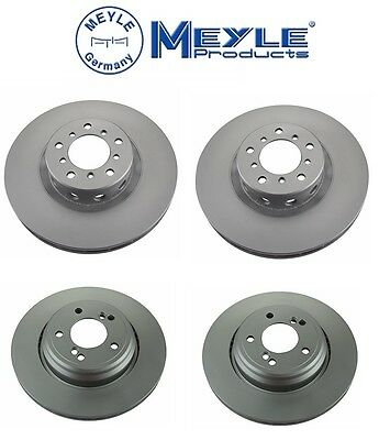 BMW E39 M5 2000-2003 Set of Front and Rear Disc Brake Rotors NEW