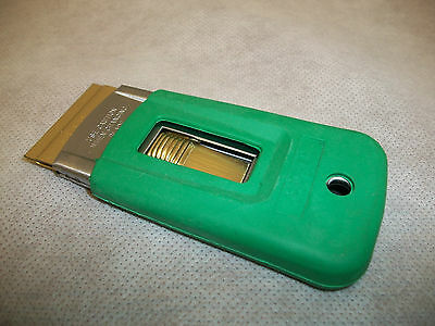 Unger ERGOTEC Safety Scraper SR040 - GREEN