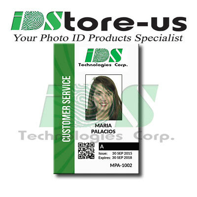 Custom Printed Full Color ID cards, PVC, High Quality, Company, Corporate ID's