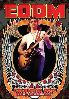 Eagles Of Death Metal Eodm 2017 Large A3 Size Wall Calendar Brand New And Sealed