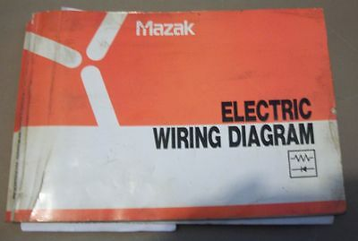 mazak yamazaki electric wiring diagram mazatrol t2 t3 diagram set mazak electric wiring diagram manual set dd357002e10