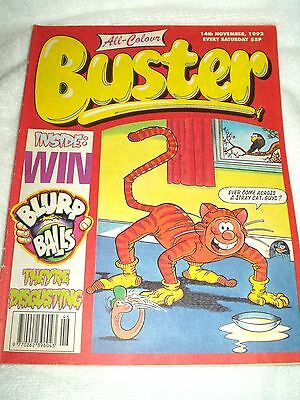 UK Comic Buster 14th November 1992