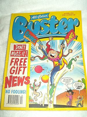 UK Comic Buster 3rd April 1993