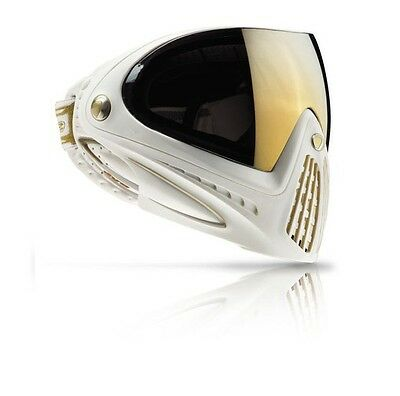 New Dye I4 Thermal Paintball Goggles Mask - Special Edition SE - White / Gold