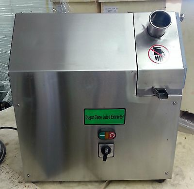 L100A Electric 3 Roller Sugar Cane Juicer Extractor