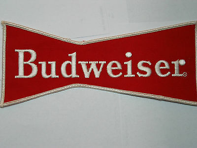 "Budweiser Jacket Patch, Vintage Large 9""  (#1Lg)"