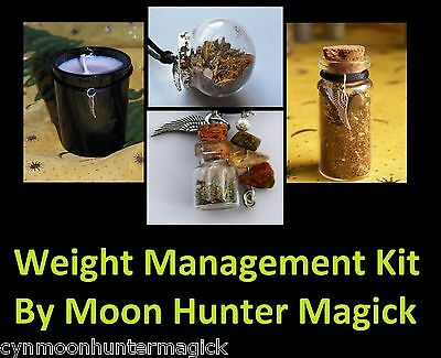 Weight Management Combo Kit Weight Loss Spell Kit Ritual Pagan Wicca
