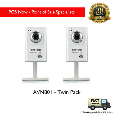 AVN801 Network Surveillance IP Camera x 2