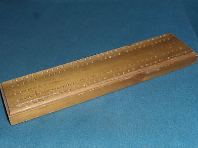 Cribbage Board Vintage No Name Nice