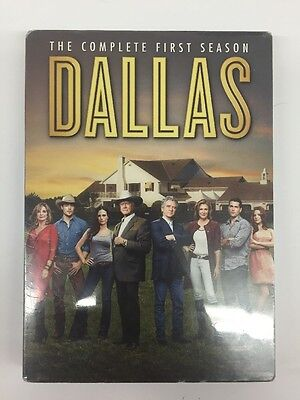 Dallas: The Complete First Season (DVD, 2013, 3-Disc Set)dented outer sleeve