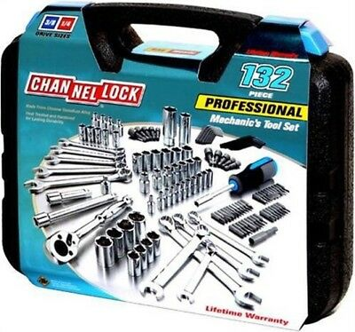Tool Set,132-Pc Mechanic'S by CHANNELLOCK, INC.