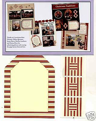Creative Memories Tty Tag#2 Page Completion Kit Bnip