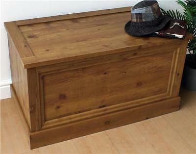 Large Oak Effect Storage Chest, Home, Furniture and DIY, Storage Solutions, New