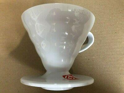 Hario V60 02 Coffee Dripper WHITE VD-02W Plastic from JAPAN