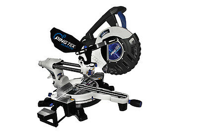 "Pingtek Blueline 255mm (10"") Double Bevel Sliding Compound Mitre Saw"