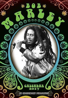 Bob Marley 2017 Large A3 Poster Size Wall Calendar Brand New And Sealed